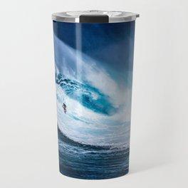 Wave Series Photograph No. 5 - Thirty Foot Roller Travel Mug