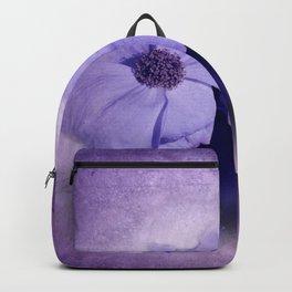 flowers on purple - dogwood 1 Backpack