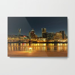 From the Esplanade Metal Print