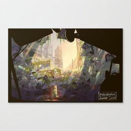 Wade's Hideout Canvas Print
