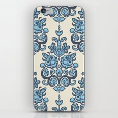 Akash damask ikat iPhone Skin