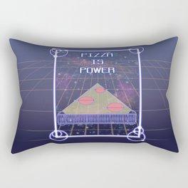 PizzaIsPower Rectangular Pillow