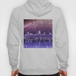 cleveland city skyline Hoody