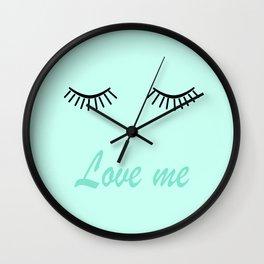 Love me 4 Wall Clock
