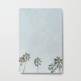 Palm Tree Row No. 1 Metal Print