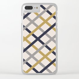 Double Tracery Clear iPhone Case