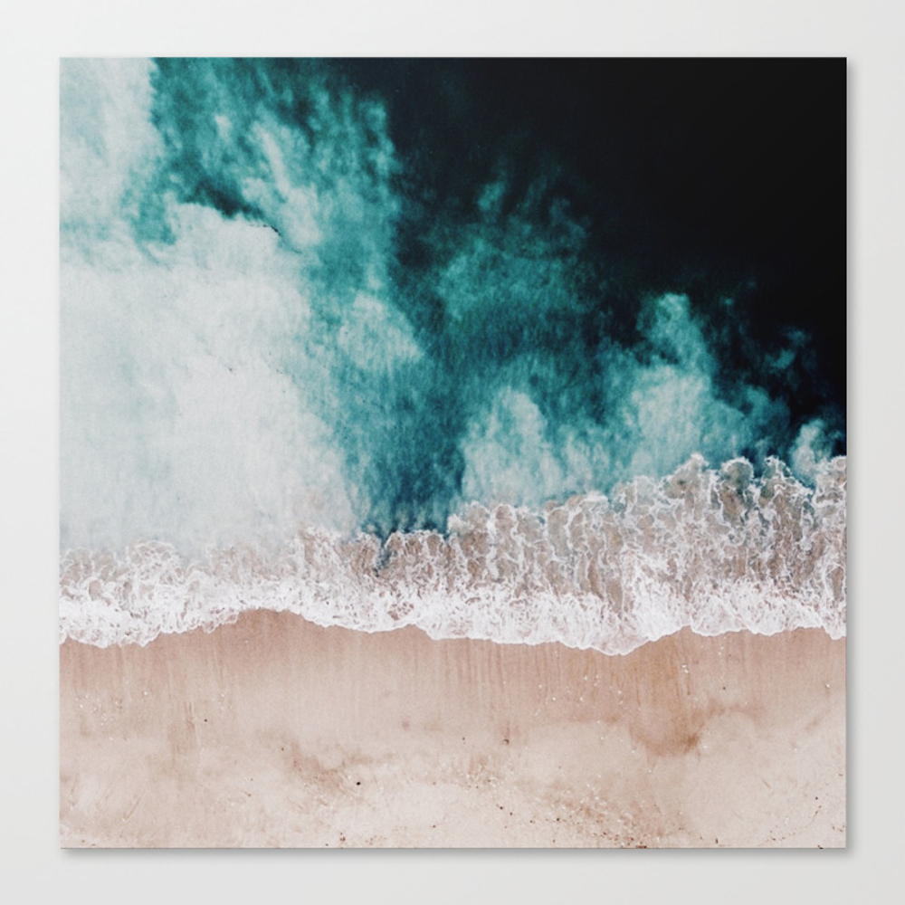Ocean (drone Photography) Canvas Print by Hunterofwoods