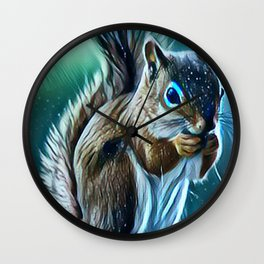 In the Winter Wall Clock