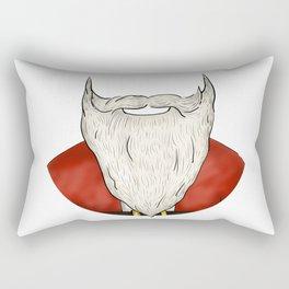 Santa Beard Rectangular Pillow