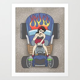 cool the engine Art Print