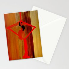 Bright Ribbon on a Fine Grain Stationery Cards