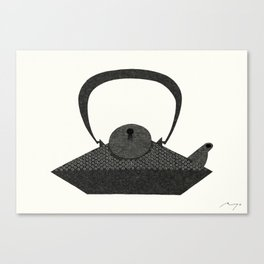 Iron Kettle Canvas Print