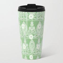 Gypsy Lace in Green Travel Mug