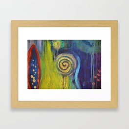 Inner Garden 2 Framed Art Print