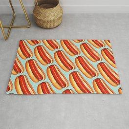 Hot Dog Pattern Rug