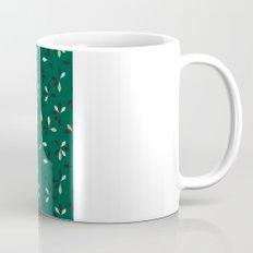 loves me loves me not pattern - hunter green Coffee Mug