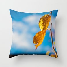 Catchy Autumn Throw Pillow