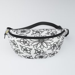 Floral Pattern 3 Fanny Pack