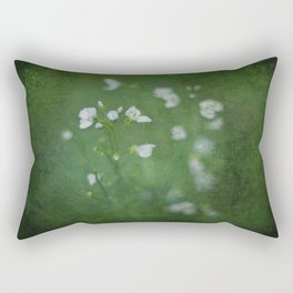 Little Blooms Rectangular Pillow