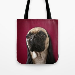 Lola on Red Tote Bag