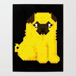 Exel Pug Poster