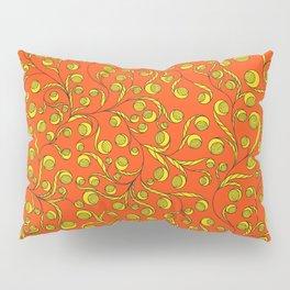 Floral folk ornamental pattern Pillow Sham