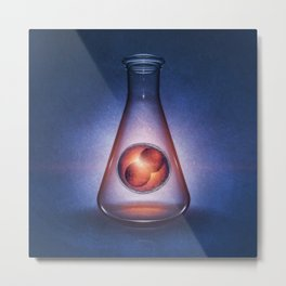 Embryogenesis Metal Print