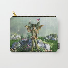 Earth Elemental Fairy Carry-All Pouch