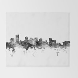 Phoenix Arizona Skyline Throw Blanket
