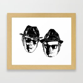 The Blues Brothers - Can You See The Light? Framed Art Print
