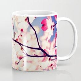 Dialogue With the Sky - Blue tones Coffee Mug