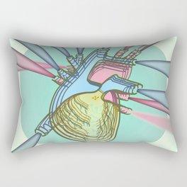 HEART / Great Machine Rectangular Pillow
