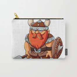Viking mascot  cartoon illustration Carry-All Pouch