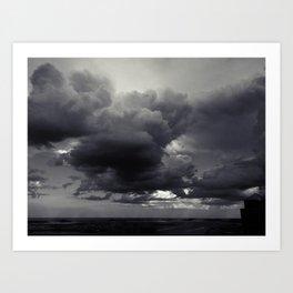 Cloudbank - 6 Art Print
