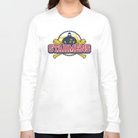 earthbound Long Sleeve T-shirts featuring Starmens by MeleeNinja