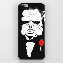 The DogFather iPhone Skin