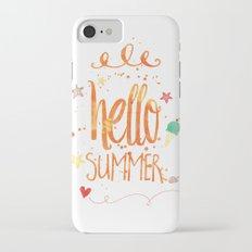 Hello Summer Slim Case iPhone 7