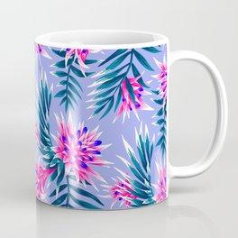 Aechmea Fasciata - Light Blue / Pink Coffee Mug