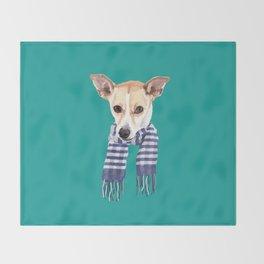 Fierce Throw Blanket