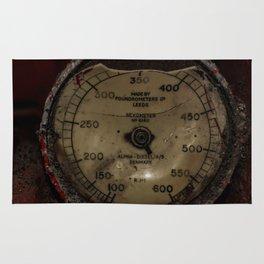 Red Revometer Rug