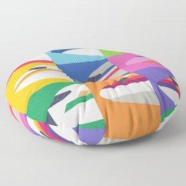 Retro Airline Nose Livery - USA Floor Pillow