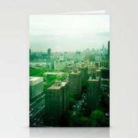brooklyn Stationery Cards featuring Brooklyn by Claire Beaufort