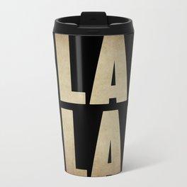 BLAH BLAH Metal Travel Mug
