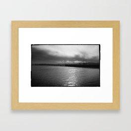 Wooden Bridge_002 Framed Art Print