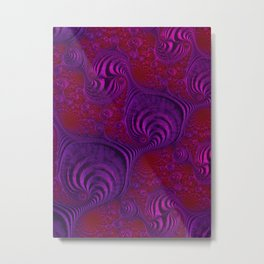 Purple People Metal Print