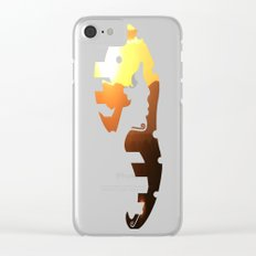 Steamboat Sunrise Clear iPhone Case