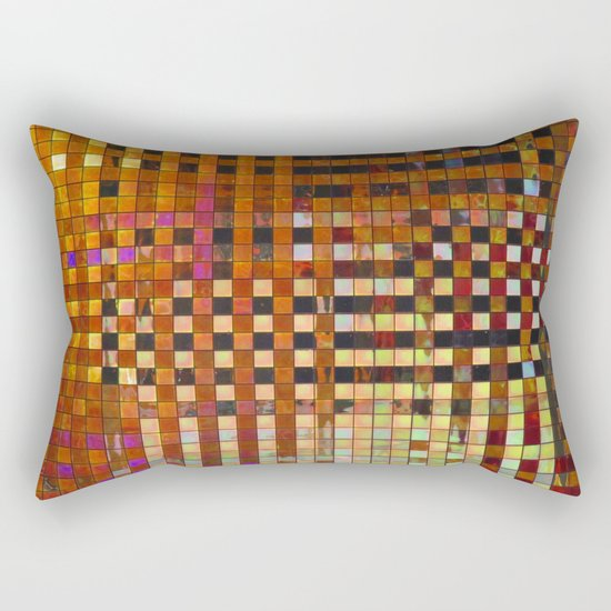 Checkered Reflections I Rectangular Pillow
