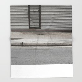 [ - ] Wang Hoi Road, Hong Kong Throw Blanket