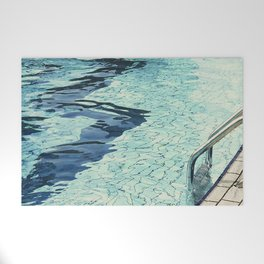 Summertime swimming Welcome Mat