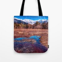 rustic Tote Bags featuring Rustic by Jonah Anderson